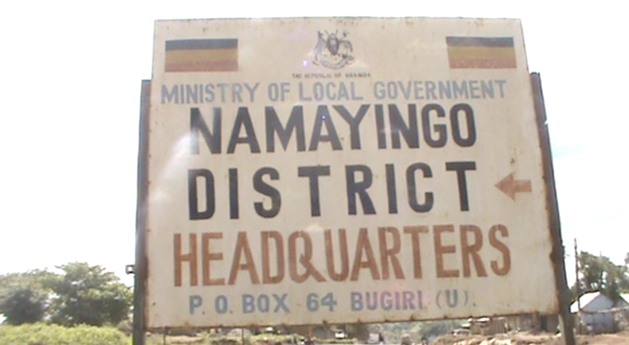 Namayingo district Head quarters