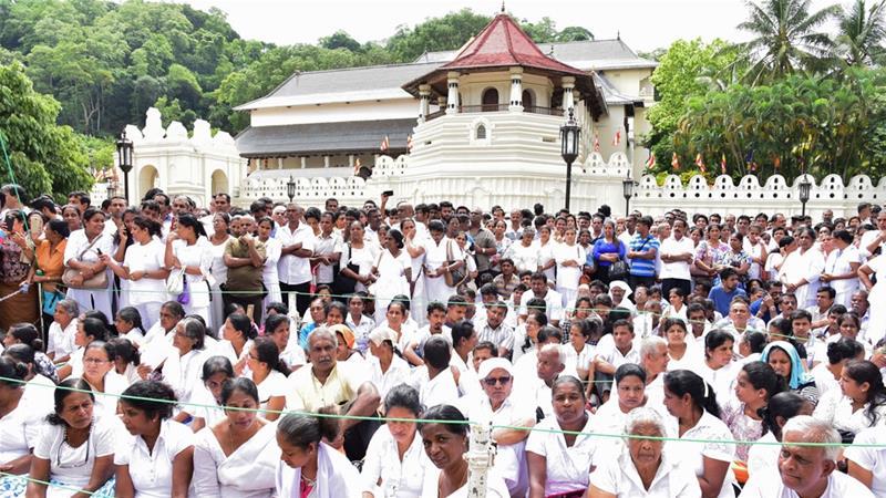 Sri Lanka Demonstrators