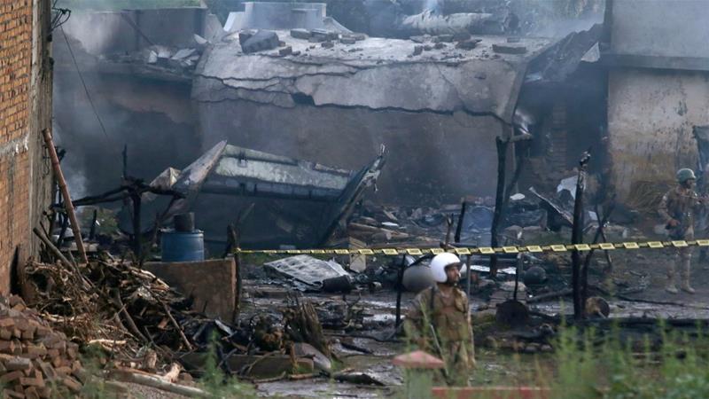 Pakistan plane crush